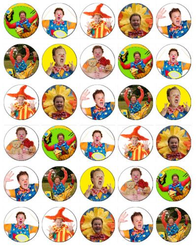 30 x Mr Tumble Rice Paper Fairy Cup Cake Toppers | eBay