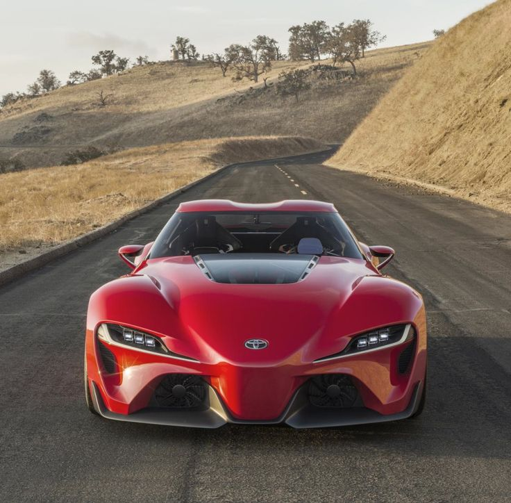 Toyota Ft 1 >> What!? The First Toyota FT-1 Concept Test Drive Is Available To Everyone (VIDEO | Fotos raras ...