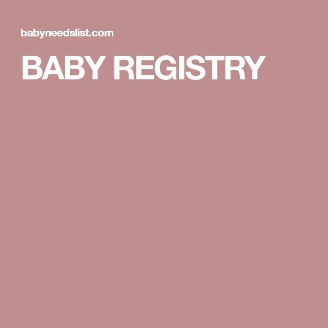 Best 25+ Baby registry checklist ideas on Pinterest Baby list - baby registry checklist