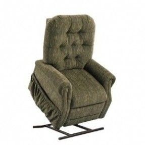 """25 Series Two-Way Reclining Lift Chair Fabric: Bella Crypton - Storm by Medlift. $759.00. 2555-CBST Fabric: Bella Crypton - Storm Features: -Reclining lift chair. Dimensions: -Overall dimensions: 41"""" H x 32"""" W x 60"""" D."""