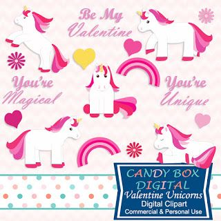 What's in the Candy Box: Unicorns for Valentine's Day!