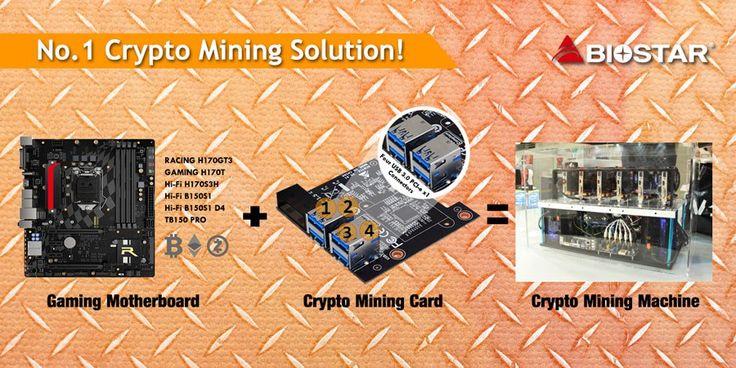 BIOSTAR Crypto Mining Card – Convert Your PC to a GPU Mining Rig  #Biostar #CryptoMiningCard #MiningCard #Accessory #GPUMining #MiningRig #Motherboard #GPU #ETH #ZEC #XMR #Bitcoin