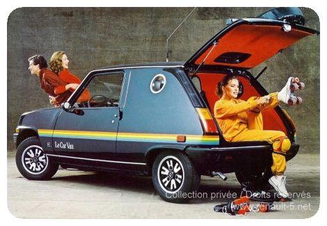 Le Car Van Heuliez :: TOUT sur la RENAULT 5                                                                                                                                                                                 Plus
