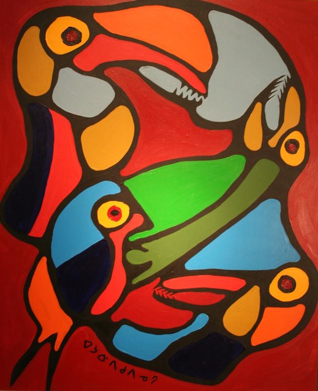 Norval Morrisseau-Unity of Spirit