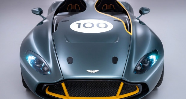 Aston Martin CC 100 Speedster- centenar in haine clasice