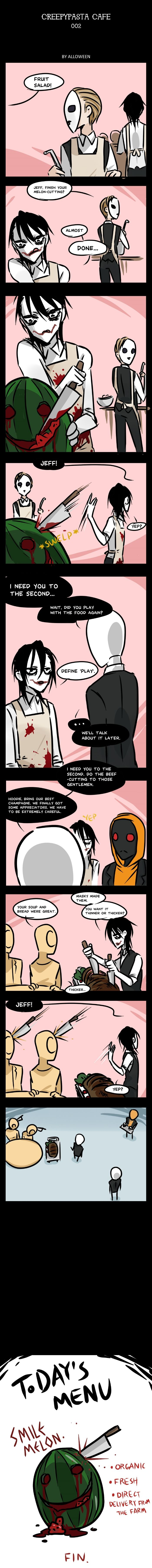 """Creepypasta Cafe 002 by Alloween 