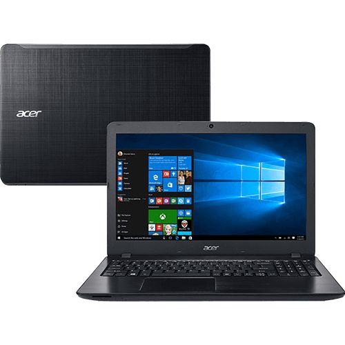 """Notebook Acer F5-573-521B Intel Core i5 8GB 1TB Tela 15.6"""" Windows 10 - Preto http://compre.vc/v2/5367e973 #PreçoBaixoAgora #MagazineJC79 #BlackFriday"""