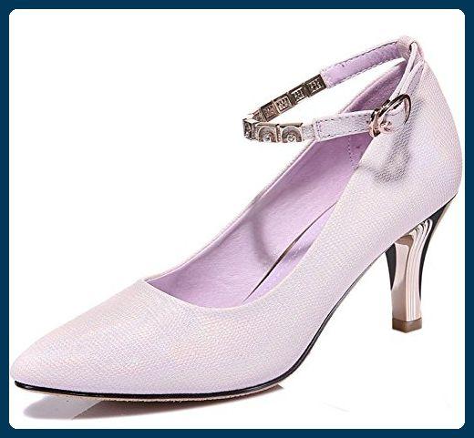 Frau Frühling Aufzug Schuhe fein mit hohen Absätzen Schuhe Dame zeigte Schuhe flach Mund mit Frau Schuhe , US6 / EU36 / UK4 / CN36 - Slipper und mokassins für frauen (*Partner-Link)