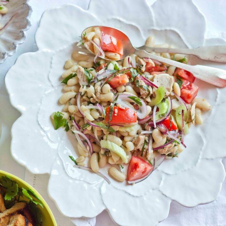 ricetta insalata tonno fagioli cipolla