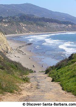 Carpinteria State Beach And The Coastal Vista Trail, Santa Barbara County, California