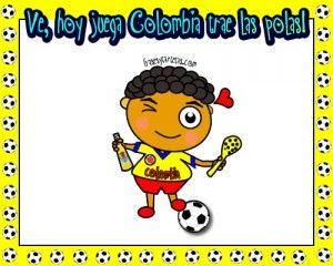 Imágenes de hoy juega mi selección Colombia, para compartir