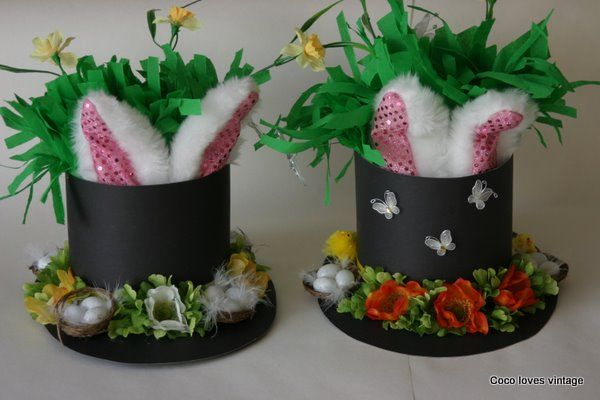 Idea for Easter bonnett Great idea for boys Easter Bonnetts