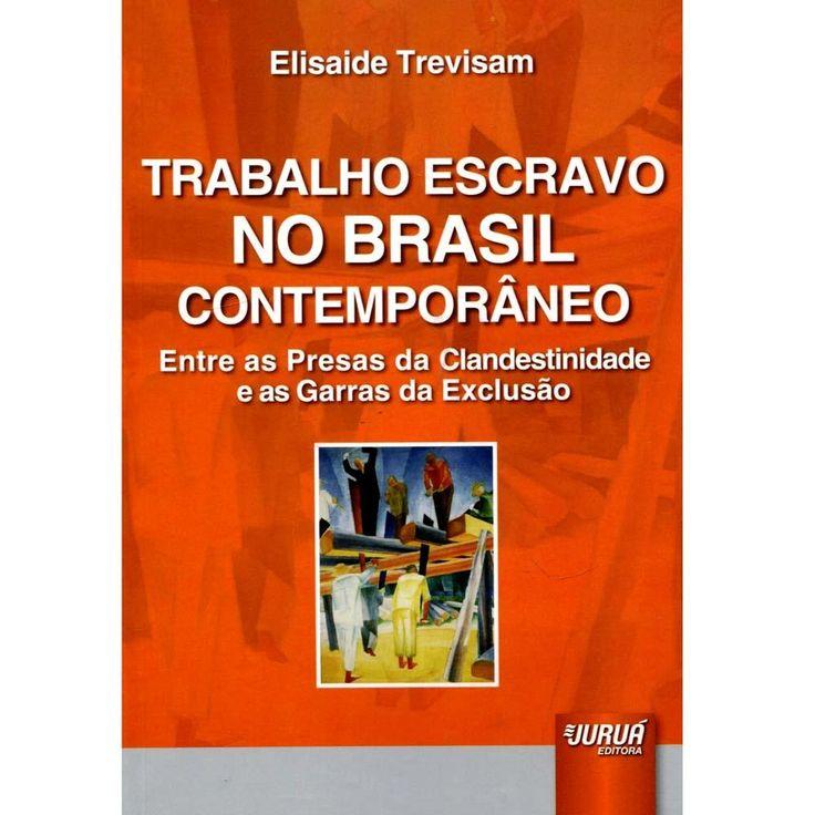 Trabalho escravo no Brasil contemporâneo : entre as presas da clanestinidade e as garras da exclusão / Elisaide Trevisam