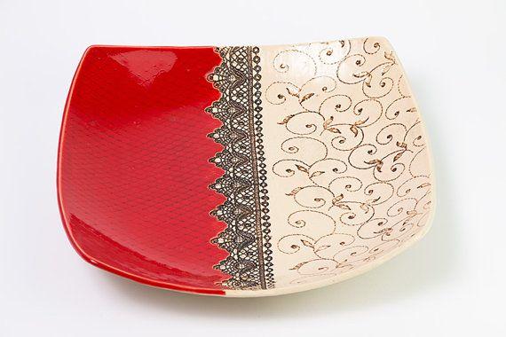 : https://www.etsy.com/nl/listing/238079014/ceramic-plate-fruit-plate-ceramic-bowl