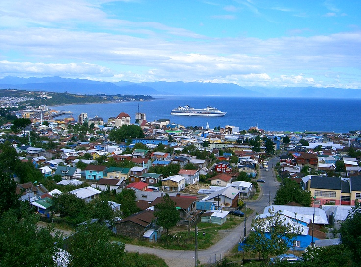 So, this is my hometown in the South of Chile, Puerto Montt