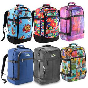 Cabin MAX Lightweight Hand Luggage Suitcase Backpack Travel BAG Holdall Approved | eBay