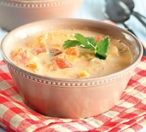 Вегетарианский чаудер. Пошаговый рецепт с фото, удобный поиск рецептов на Gastronom.ru