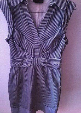 Kup mój przedmiot na #vintedpl http://www.vinted.pl/damska-odziez/krotkie-sukienki/15084711-jasnoniebieska-sukienka