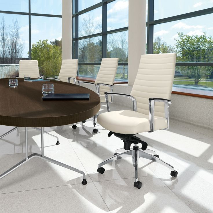 Global Total Office Accord Series Office Chairs Are Perfect For High End Conference Room