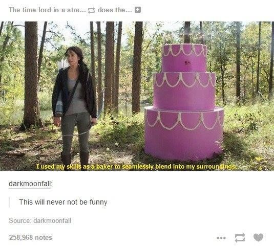 Plot twist there is a stripper in the cake