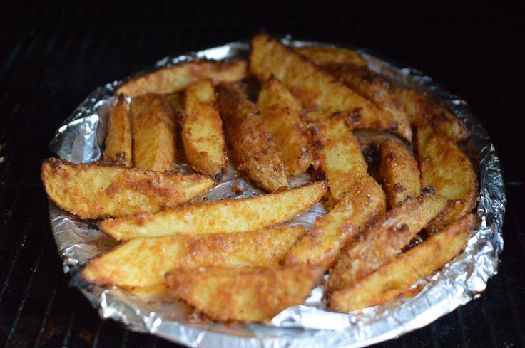 Crispy Crunchy No-Fry Potato's on the Traeger Grill