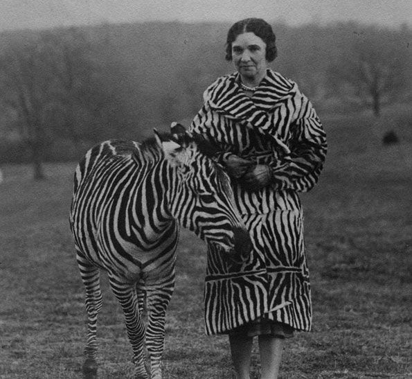 Viola Winmill and her zebra, Nderu via Washington Life Magazine