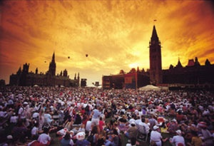 Canada Day, Parliament Hill