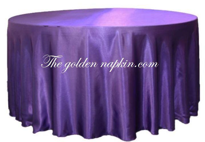 Plain Taffeta Table Cloths at wholesale price