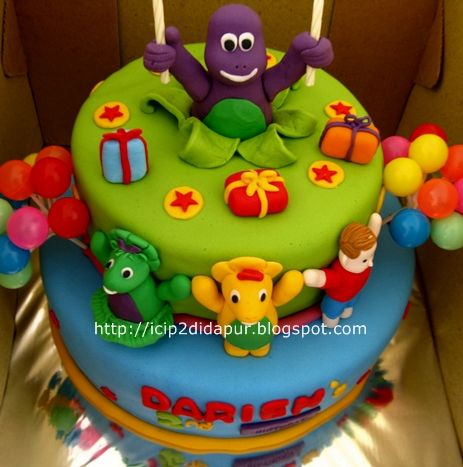 barney cake pops - photo #28