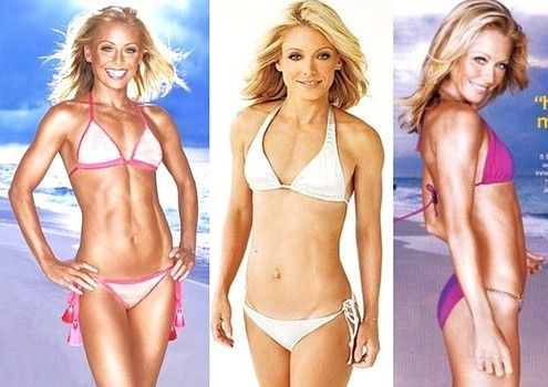 Kelly Ripa's diet and workout secrets for fat-free abs: Yoga and spinning
