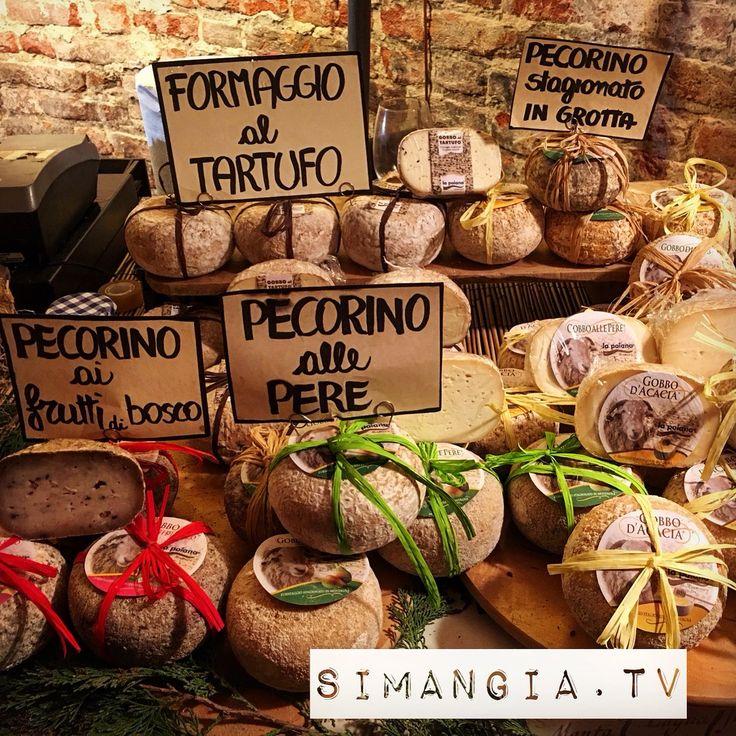 #Italian #Cheese #Pecorini #Formaggio #Tartufo ~ Scaramuzza (@SIMANGIATV) | Twitter