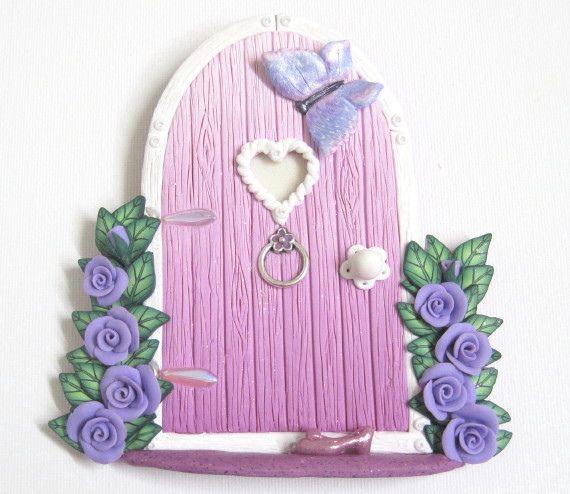 Pink Ombre Fairy Door   Flickr - Photo Sharing!