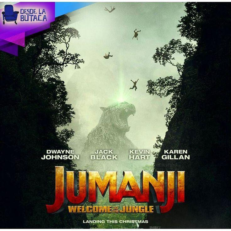 Ya vieron el #Trailer de #Jumanji? Cuentennos qué les pareció en los comentarios  nosotros estamos un poco intrigados con el cast de esta película