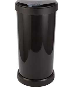 Buy Curver 40 Litre Deco Touch Top Kitchen Bin - Black at Argos.co.uk - Your Online Shop for Kitchen bins.