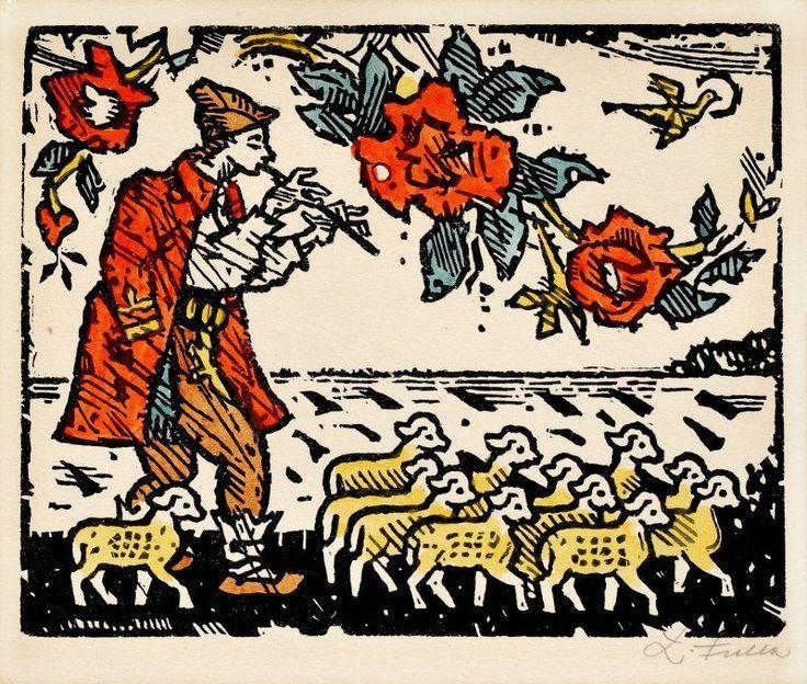 Ľudovít Fulla – Ilustrácia k rozprávke I, 1950
