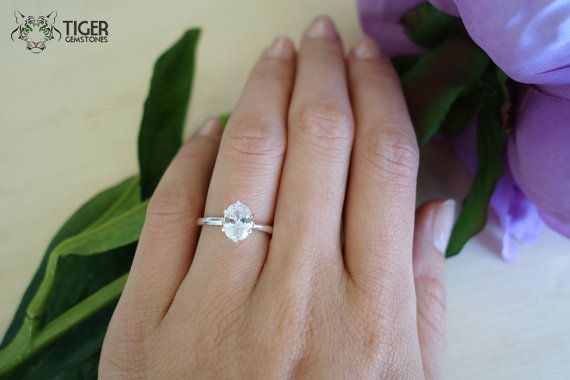 Carat Oval Solitaire Engagement Ring