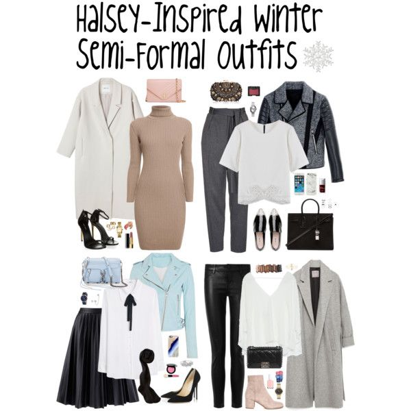 Halsey-Inspired Winter Semi-Formal Outfits by halseys-clothes on Polyvore…