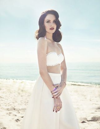 Lana Del Rey For Fashion Canada Summer  © Photos by Mark Williams and Sara Hirakawa