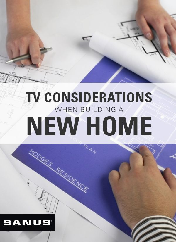 How to decide where to put your TVs (and corresponding electrical outlets)