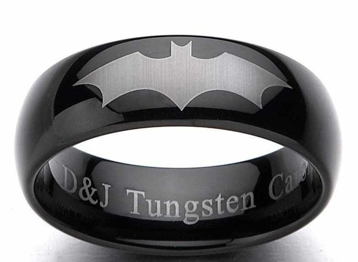 1000 images about batman rings on pinterest wedding for Mens batman wedding ring