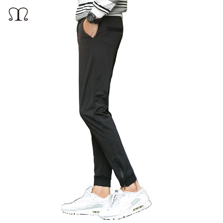 2016 New Autumn Sportwear Pants Men Fashion Casual Skinny Mens Track Skinny Harem Sweatpants Tracksuit Bottoms Pants Trousers
