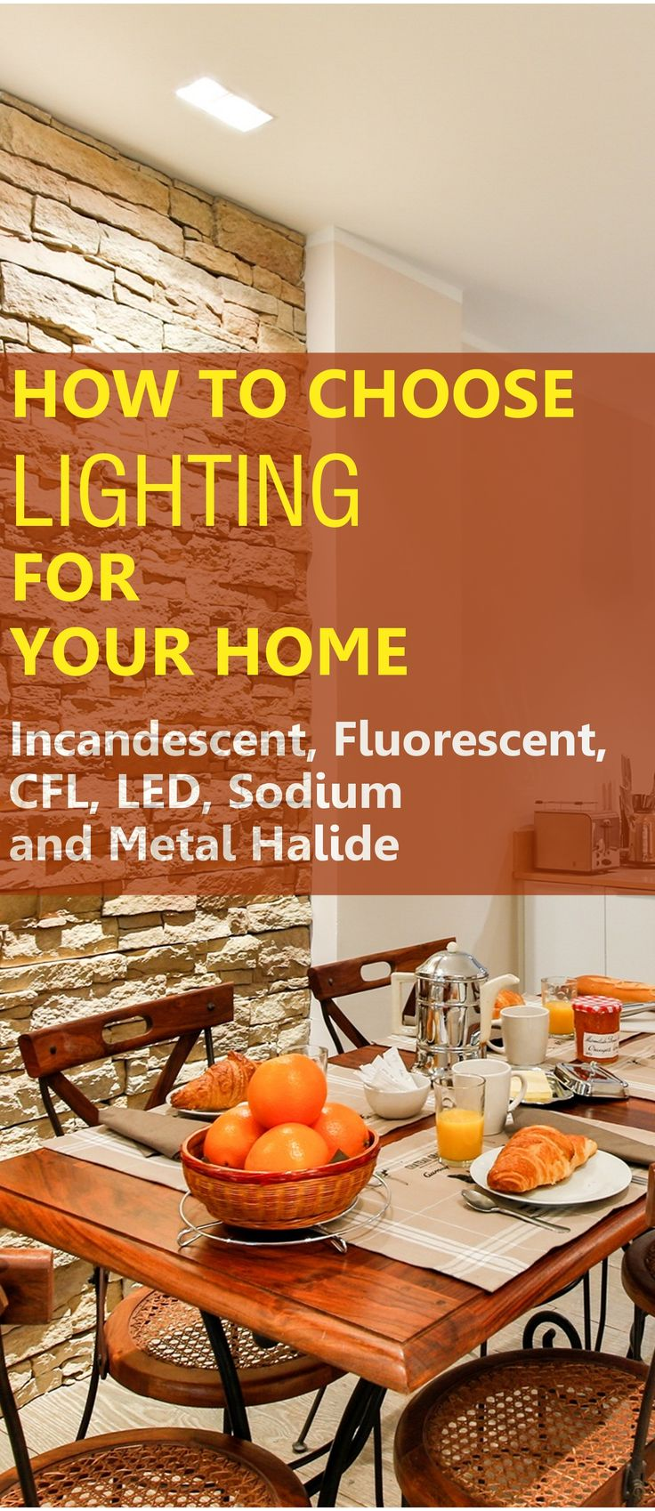 """Did you know that a """"normal"""" incandescent light bulb only converts about 5% of the electricity used into useful light? There are lots of other lighting options which are much more energy efficient #lighting #lamps #HomeImprovement #illumination #EnergyEfficiency"""