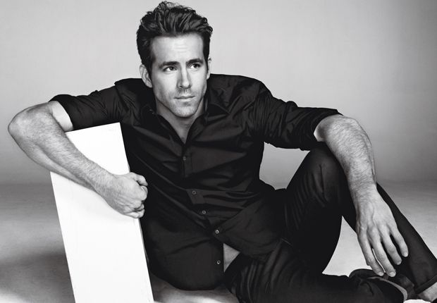 Ryan Reynolds #ryanreynolds #buttondown #celebritystyle