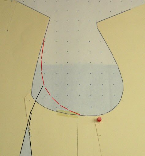 How to re-shape armholes