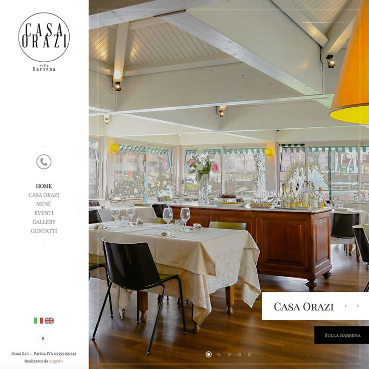 """Un progetto per raccontare i valori e l'impegno di un ristorante che nel panorama gastronomico marchigiano è una certezza. Vi presentiamo il redesign del sito web di """"Casa Orazi""""  www.casaorazi.it"""