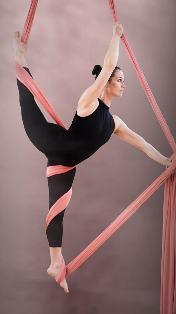 Need to try this - I could do it. Aerial Silk Tutorial - Stellar