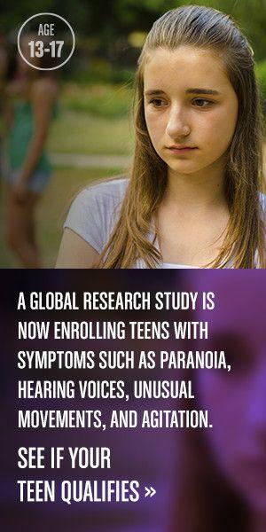 Schizophrenia causes in teens