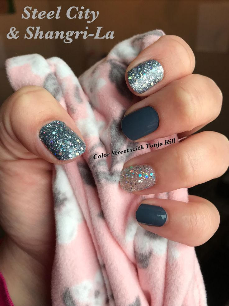 Color Street Steel City & Shangri-La | Nails in 2019 ...
