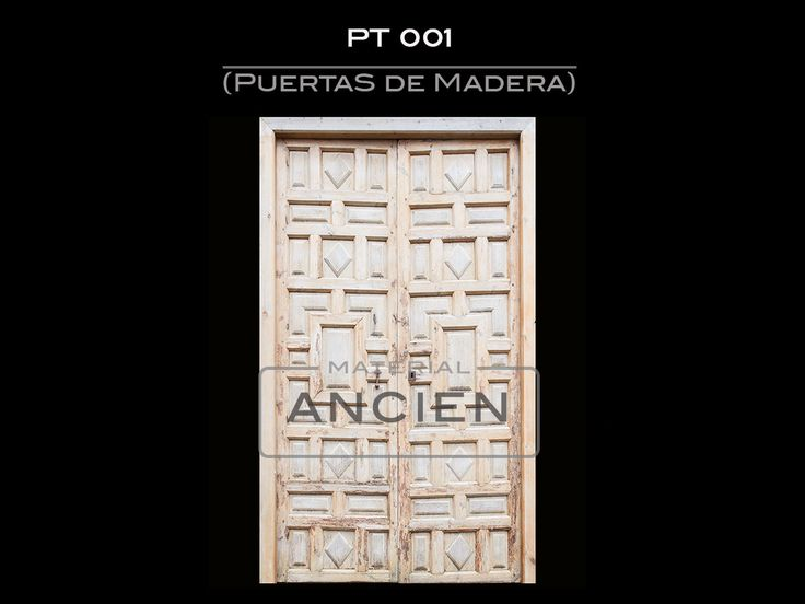 puertas antiguas de madera, en perfecto estado #matetialancien #material ancien #ancien #puertasantiguas