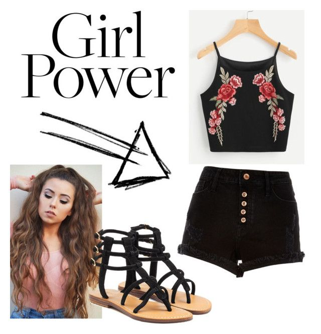 """🙍🏼✌🏻💗"" by talia-123 on Polyvore featuring River Island and Mystique"